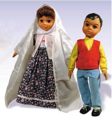 عروسک «دارا و سارا»