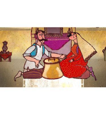 کشاورز و خروس