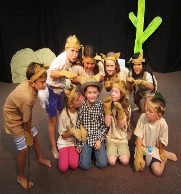 نمایش خلاق، ابزار و موضوع آموزش به کودکان