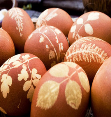رنگ آمیزی تخم مرغ برای هفت سین