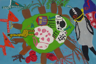 افتخارآفرینی دو عضو کانون در هفتمین مسابقه بینالمللی نقاشی 'کائو' ژاپن