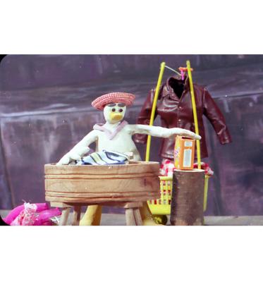 اردک و کشاورز