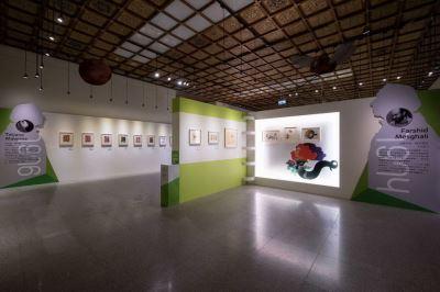 نمایش تصویرگریهای فرشید مثقالی در تایوان