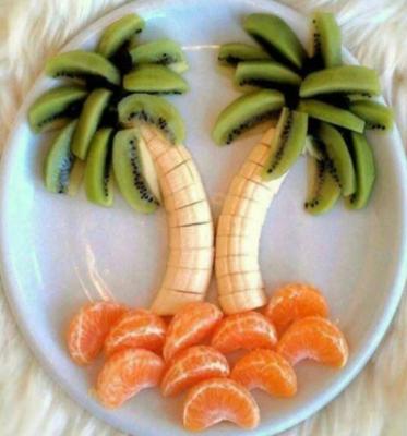 شکل سازی با میوه 2