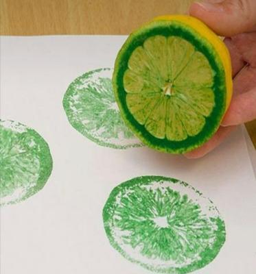 چاپ با میوه