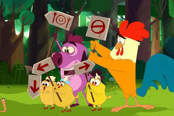 نوروز امسال با انیمیشن «جوجو و روبی»