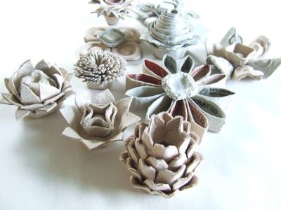 ایده ساخت گل