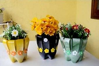 گلدانهای پلاستیکی