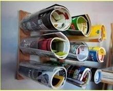 ایدههایی برای جا روزنامه ایی با بطری پلاستیکی