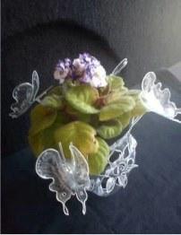 گلدان های پلاستیکی
