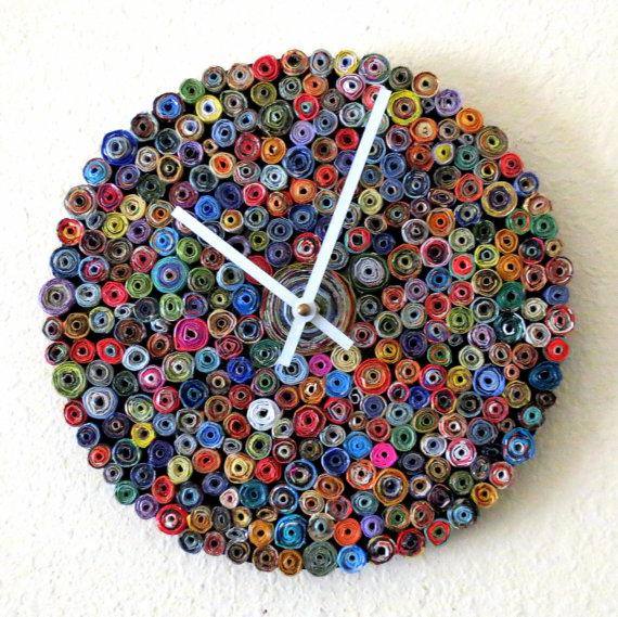 ساعت کاغذی