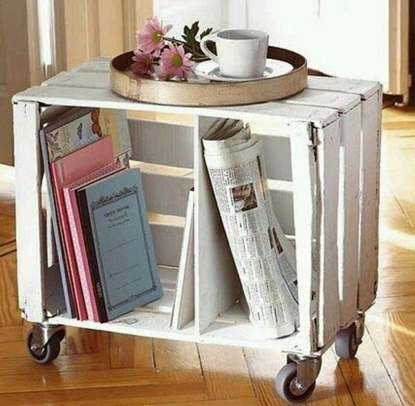 کتاب خانه چوبی