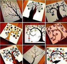 درخت دکمه ایی