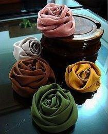 گل پارچه ایی