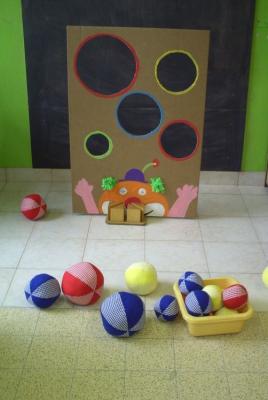 سیبل توپ بازی