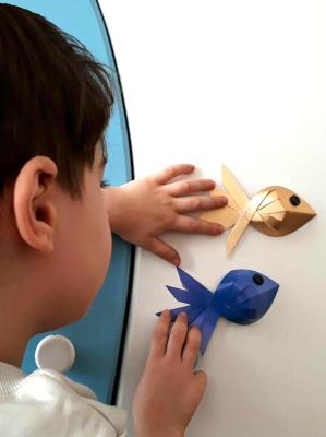ماهی کاغذی