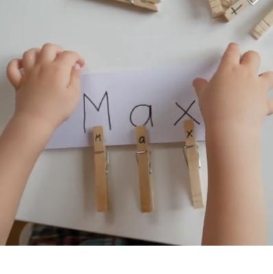 تمرین حروف الفبا با تکنیک تشخیص حرف از میان حروف به هم ریخته2
