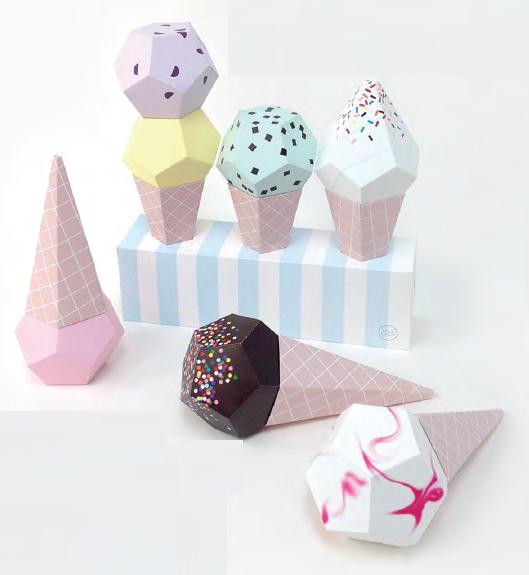 بستنی های حجم دار 2