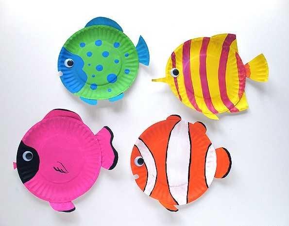 بشقاب و ماهی