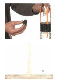 موشک شیمی،  با جوش شیرین و سرکه موشک بسازید.