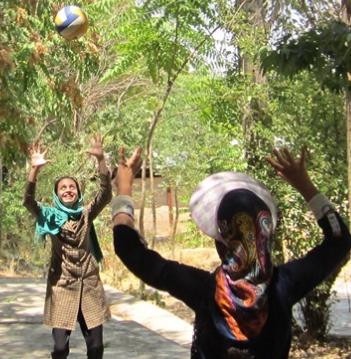 بازی والیبال کتکی
