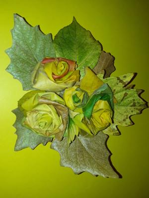 دسته گل پاییزی
