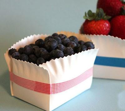 ظرف میوه با بشقاب یک بار مصرف