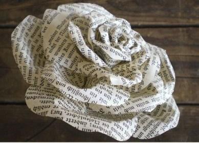 دسته گل کاغذی 1