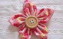 گل پارچه ایی 2