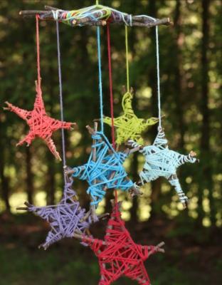 آویزهای ستاره ایی