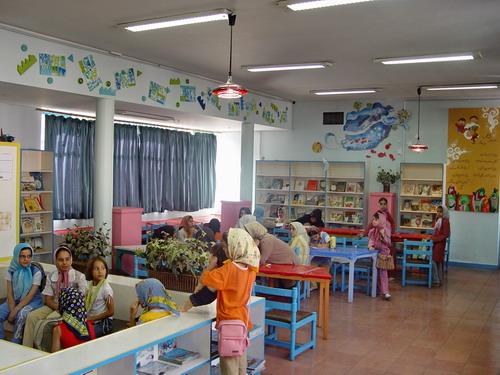 نقش رنگ در معماری داخلی کتابخانه های کودکان و نوجوانان