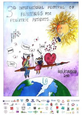 فراخوان سومین جشنواره بینالمللی نقاشی کودکان بیمار منتشر شد