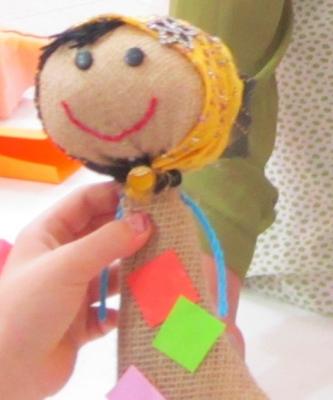 عروسک سازی با گونی