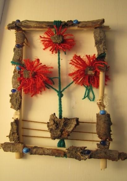 تابلو گل و گلدان