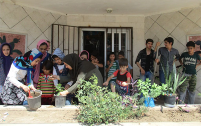 اعضا و مربیان کانون گلستان مروجان فرهنگ دوستی با طبیعت