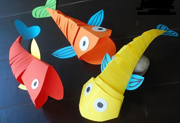 ماهی های متحرک