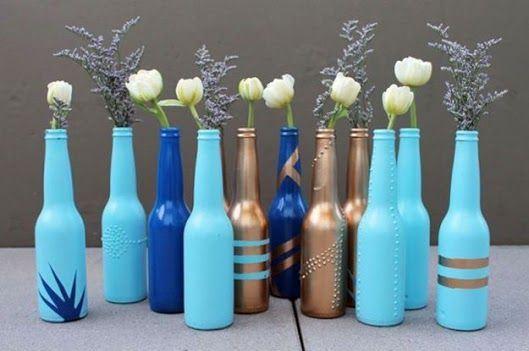 گلدان شیشه ایی