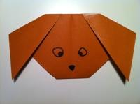 سگ کوچلوی کاغذی
