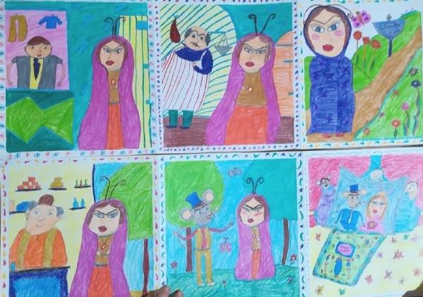 کتاب تصویری برای کودکان پیش دبستانی