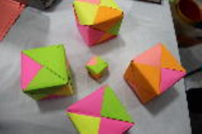 مکعب(اوریگامی)