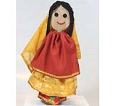 عروسک چومچه خاتون (دست ساز)