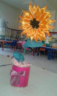 گلدان آفتاب گردان