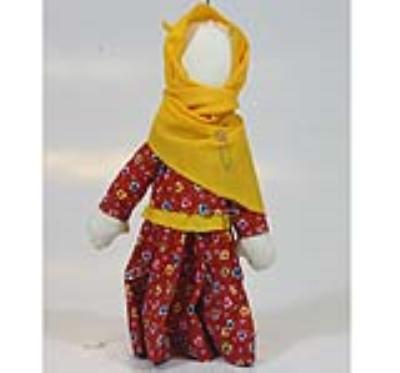 عروسک چمچه گلين (دست ساز)
