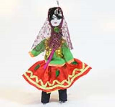 عروسک مازندرانی (دستساز)