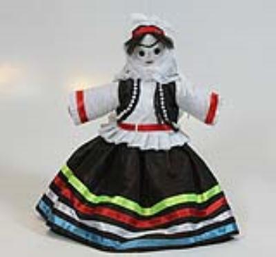 عروسک دختر قاسمآبادي (دست ساز)