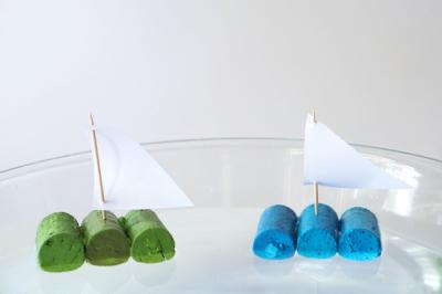 قایق های بازیافت شده