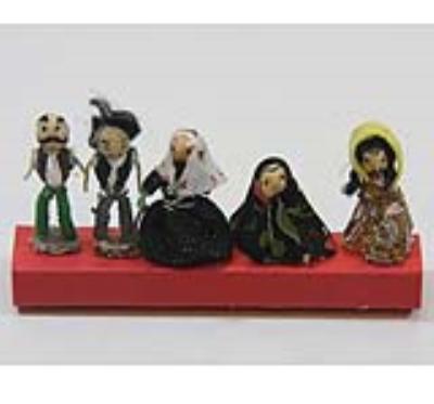 عروسک نخودي (5 عددي) (دست ساز)
