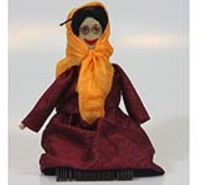 عروسک دفتيني (دست ساز)