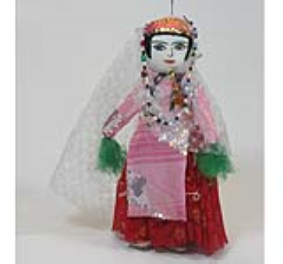 عروسک بهيگ (دست ساز)