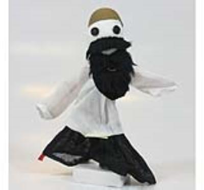 عروسک هل هله کوسه (دست ساز)